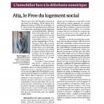 Article Alila l'Opinion presse- 01.03.16